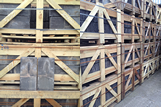 Reclaimed Welsh Slates in Crates